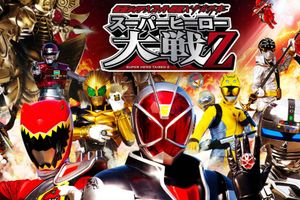 Kamen Rider × Super Sentai × Space Sheriff Super Hero Taisen Z